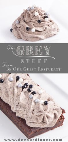 The Grey Stuff, It's Delicious from Be Our Guest Resturant in Disney World Copycat Recipe | Devour Dinner.  Magical dessert that will make you smile and remember the enchanting dishes and others from Beauty and the Beast.  Try the Grey Stuff, it's Delicious...don't believe me? Ask the Dishes.  This fun recipe will be the highlight of your theme party or any dessert. #devourdinner  #recipes  #recipe  #food  #Foodie  #Foodblogger  #easyrecipes  #Disney  #beautyandthebeast  #dessert  #yummy