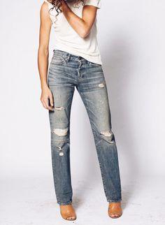 Ann Halsy Straight Leg