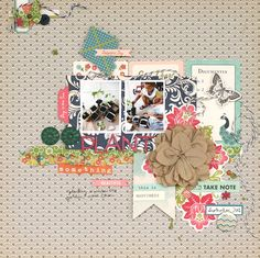 Ideas for Scrapbooking Gardening | Leah Farquharson | Get It Scrapped