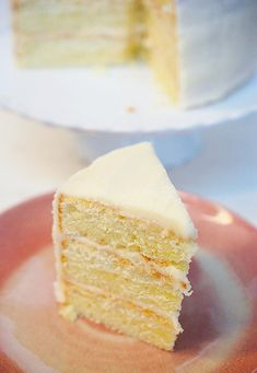 This champagne cake with champagne buttercream is a great dessert to celebrate any special occasion. I made this after New Year's with some leftover champagne. Round Cake Pans, Round Cakes, Canadian Butter Tarts, Champagne Cake, Lemon Extract, Whole Eggs, Great Desserts, Cake Flour, Powdered Sugar