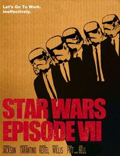 affiches de star wars vii reservoir dogs   Affiches de Star Wars VII inspirées dautres films   Starwars star wars photoshop photo parodie ma...