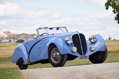 Figoni & Falaschi Delahaye 135 Court Competition Cabriolet #46837 1936