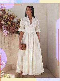 Modest Fashion, Fashion Dresses, Courthouse Wedding Dress, Casual Dresses, Summer Dresses, Midi Dresses, Linen Dresses, Look Boho, Mode Inspiration
