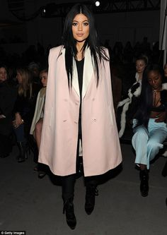 Kylie Jenner ignores fuss over Amber Rose's insults at fashion show #dailymail