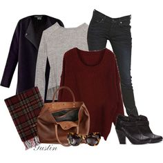 """""""casual fall"""" by stacy-gustin on Polyvore"""
