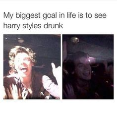 Or get drunk with him