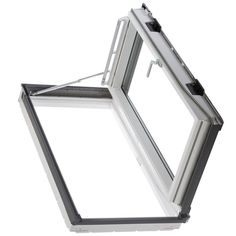 Fakro FWU-R Egress Window in. Venting Roof Access Skylight with Tempered Glass, - The Home Depot - in. Egress Roof Access Window with Laminated Glass // I think I'd like -