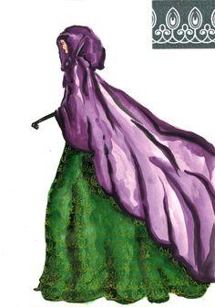 Cloak and Dagger (Watercolour)
