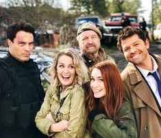 Supernatural alternate universe cast photo
