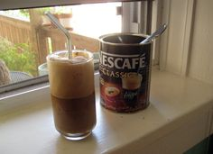 Greek Frappe- Thank you my little greek friend for shipping me Nescafe so I can enjoy all summer!