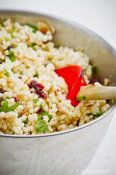 Mediterranean Couscous Salad - Home Ec 101