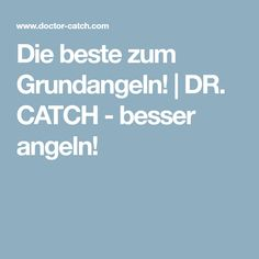 Die beste zum Grundangeln! | DR. CATCH - besser angeln!