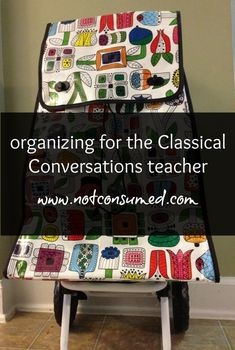Are you tutoring (teaching) Classical Conversations in the fall? You'll love these ideas!
