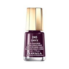 Nail polish in Mavala Onyx 245