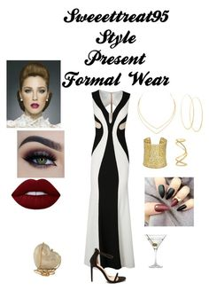 """""""Formal Wear"""" by sweeettreat95 on Polyvore featuring Lime Crime, Lana, Kendra Scott, Maison Margiela, Swarovski and Nordstrom"""