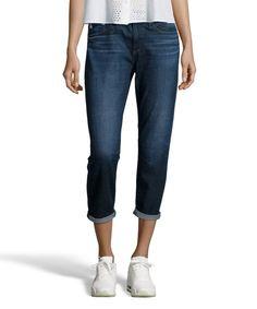 $95.30 AG Jeans 5 years upland stretch cotton denim 'Drew' boyfriend jeans