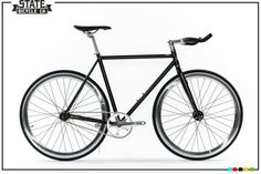 Build Custom Matte Black 4 Bike | Fixie Bike | State Bicycle Co.
