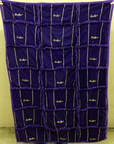 Crown Royal Couch Throw 50x60 by Custom Order | bitspeaces - Quilts on ArtFire