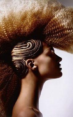 2014 avant garde makeup | avant garde hair