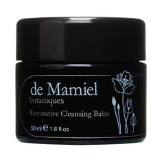 DE MAMIEL Restorative Cleansing Balm returns your complexion to its clean, clear and luminous best. Packed with blemish-fighting probiotics and antibacterial Manuka to stave off breakouts, this delicate cleanser leaves skin feeling incredibly moisturised. Nourishing kukui, calendula and moringa oils combine to replenish precious moisture and enhance skin's strength, elasticity and resilience.  The texture of this beautiful honey scented balm is exquisitely soft and silky, rich yet effe...