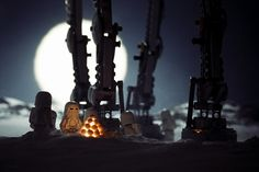 """Stormtroopers' Perpetual Winter. """"The days and nights on Hoth were harsh on the six who were lost."""""""