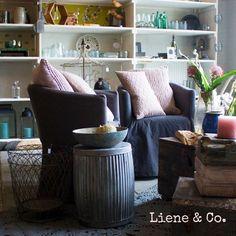 Ideeën opdoen voor de woonkamer? Kom gezellig bij Liene & Co langs voor decoratie ideeën en inspiratie voor in jouw woonkamer.
