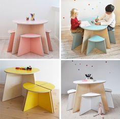 The Architecture of Early Childhood: Small Design - creating quality interlocking furniture for kids