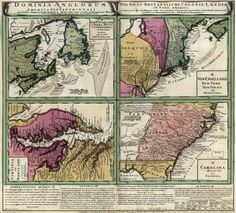 Map of English Dominions in North America (1759)