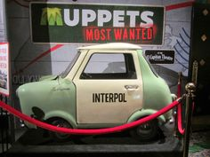 Interpol car from MUPPETS MOST WANTED (at Disney's El Capitan Theatre in Hollywood)