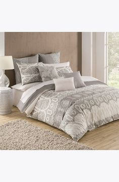 KAS+Designs+'Kamiri'+Embroidered+Cotton+Duvet+Cover+available+at+#Nordstrom