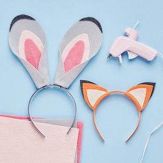 Whether you're dressing up for Halloween or trying out some Zootopia-inspired face paint, here's an easy way for the Judy Hopps and Nick Wilde fans in your family to add an extra detail to the fun!