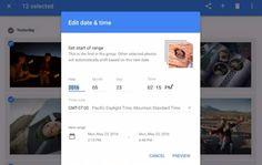 #Multimedia #fotos #google Google Fotos ya nos permite cambiar la fecha de varias fotos al mismo tiempo