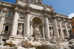 Guide to the best hotels and things to do in Rome. Maps, travel tips and more. Trevi Fountain, Rome Travel, Rome Italy, Dream Vacations, Best Hotels, Attraction, Travel Tips, Louvre, Europe