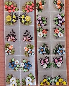 Flower Nails, Manicure And Pedicure, Adhesive, Nail Designs, Lily, Nail Art, Stickers, Prints, Instagram