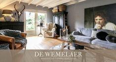 Binnenkijken bij Mirja - Accent Decor, Villa, Indoor, Couch, Living Room, Interior Design, Instagram, Furniture, Home Decor