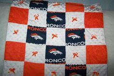 NFL Denver Broncos Football Team Baby Girl by HodgePodgeBaby, $30.00