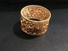 18k Filigree jewelry. A goldsmith greatest piece of art. www.colombian-artisans.com