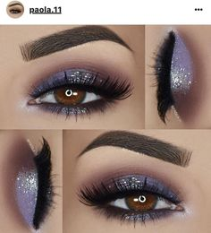 Easy To Do Eye Makeup Ideas with Glitter Cream Eyeshadow Tutorial around Glitter Eyeshadow Palette Private Label; Smokey Cat Eye Makeup For Brown Eyes Eye Makeup Tips, Mac Makeup, Makeup Goals, Skin Makeup, Eyeshadow Makeup, Beauty Makeup, Eyeshadow Palette, Makeup Kit, Cream Eyeshadow