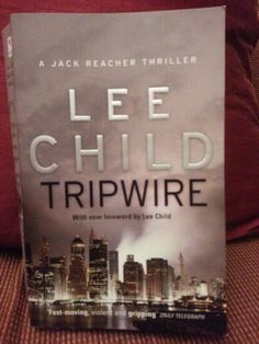 10. Hook Holbie owed his whole life to a secret... Tripwire by Lee Child #happies2016