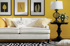 Bryant Sofa, Baldwin Chair, Kenzie Black Table Lamp. Contact Nikki @ Ethan Allen to customize this room for you.