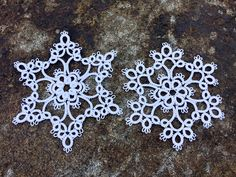 I'm in the process of updating this page, so that it will show pictures of each design as well as links to the patterns. Clicking on the tex. Shuttle Tatting Patterns, Needle Tatting Patterns, Quilting Quotes, Xmax, Magic Squares, Civil War Quilts, Crystal Snowflakes, Christmas Crochet Patterns, Vintage Sewing Machines