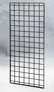 "(Black) 56"" X 24""-Double Wire-Grid Panel"