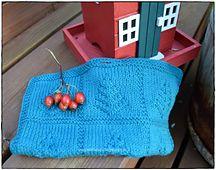 Ravelry: Granskog oppvaskklut pattern by Jorunn Jakobsen Pedersen Knitted Hats, Crochet Hats, Ravelry, Knitting, Pattern, Points, Blog, Design, Knitting Hats