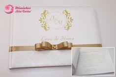 Livro de dedicatórias aos noivos Grooms, Book, Messages, Mariage