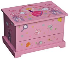 Mele & Co. Kerri Girl's Musical Ballerina Jewelry Box