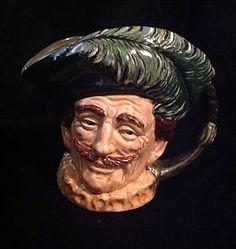 Rare Royal Doulton Character Jug Cavalier colour trialway/variation (1400)
