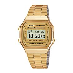 Casio horloge, Goudkleurig