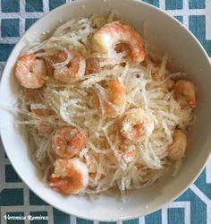Garlic Shrimp & Kanten Pasta Recipe   Miracle Noodle- Shirataki and other low carb, zero calorie noodles