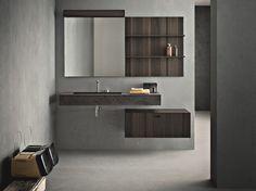 Arredo bagno completo CRAFT - COMPOSIZIONE N09 Collezione Craft by NOVELLO | design Stefano Cavazzana