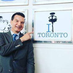 From Paris to Toronto !  Perfumer explorer Thierry Wasser revealing the inimitable style of #LaPetiteRobeNoire in #Toronto.  #DressUpYourStyle #Guerlain #TorontoMoments #BeautyExpert #PerfumeLovers #Canada